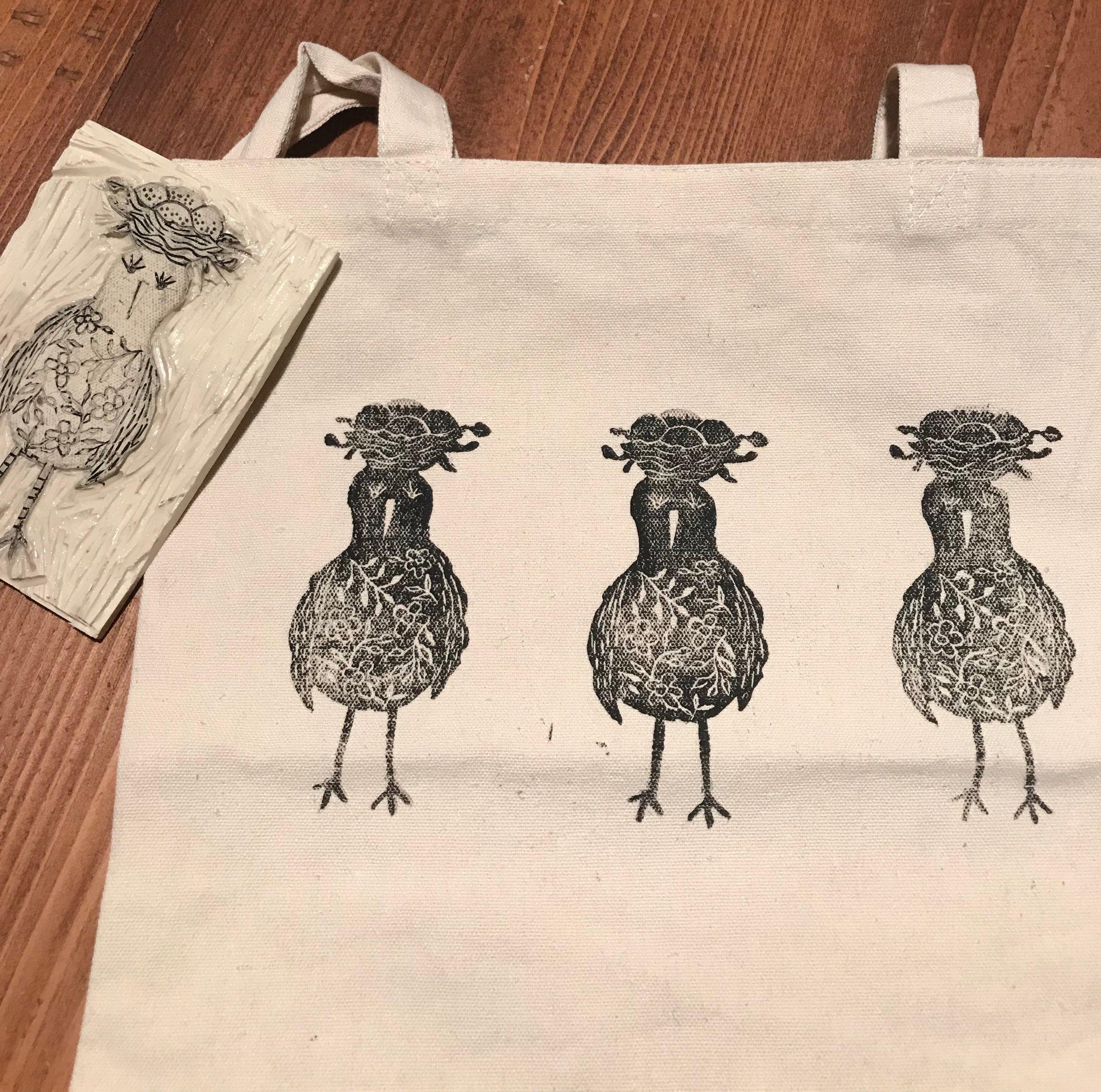 Nest Block Print