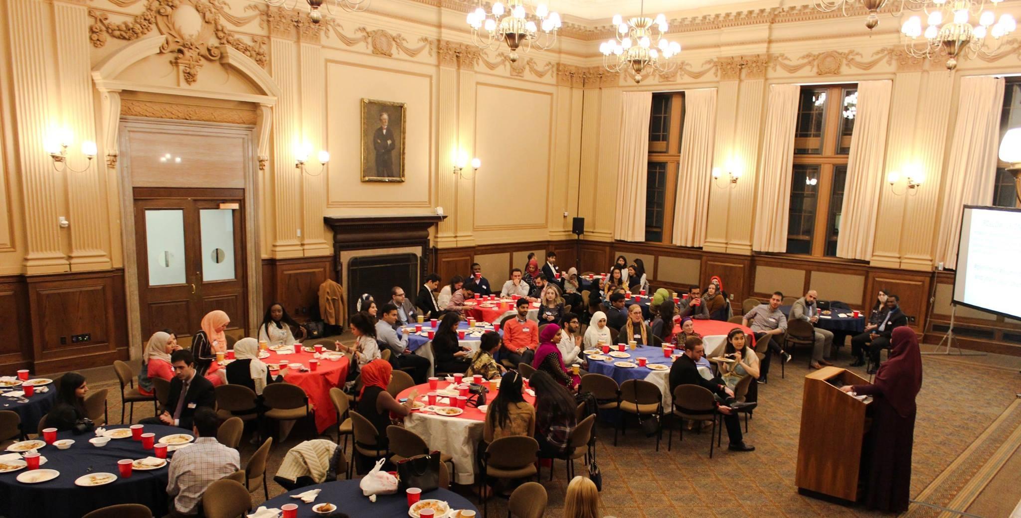 The 12th Annual Alumni Banquet.