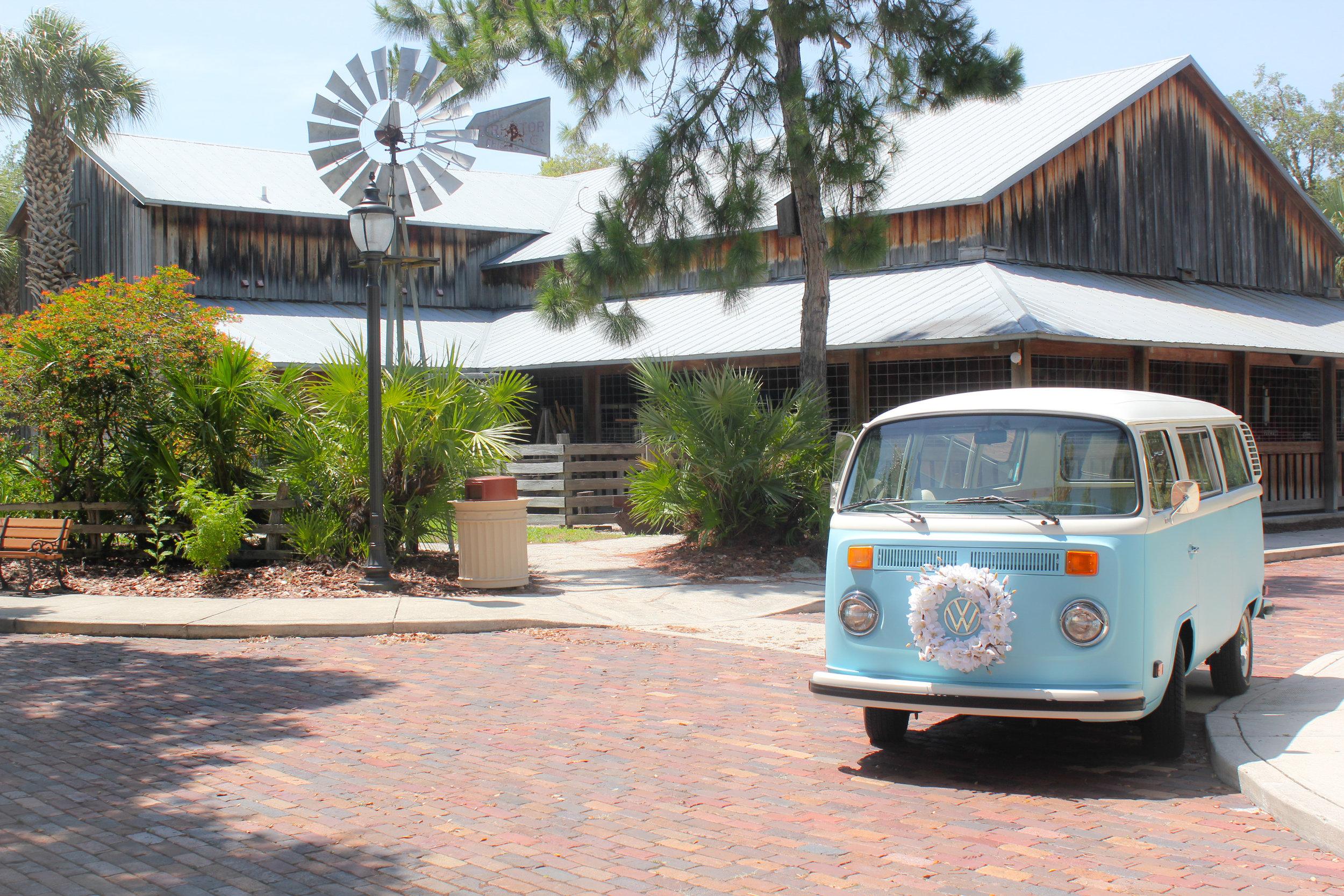 VW Bus photo booth in East Bradenton FL.