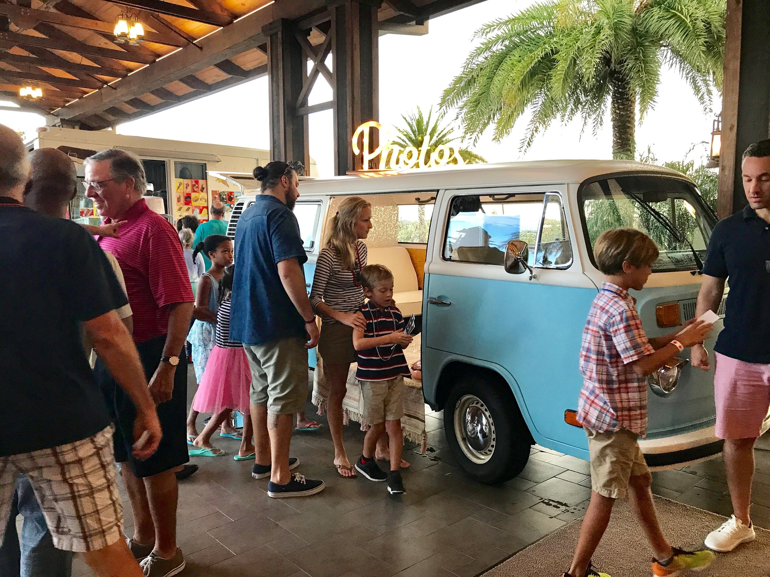VW Photo Bus in Sarasota FL