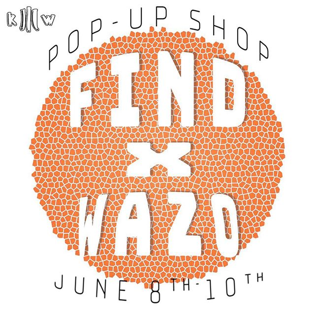 FIND X WAZO POP UP SHOP THIS WEEKEND @findportland Get Your Wazo Merch! We Will Be In @findportland All Weekend Selling Our Clothing! COME SUPPORT LOCAL ART! #KeshoWazo #TomorrowIdeas #FindPortland #PopUpShop #LocalArt #Merch