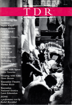 Tanzanian Theatre: From Marx to the Marketplace