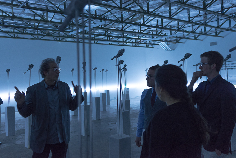 rehearsals, Dallas Contemporary Museum