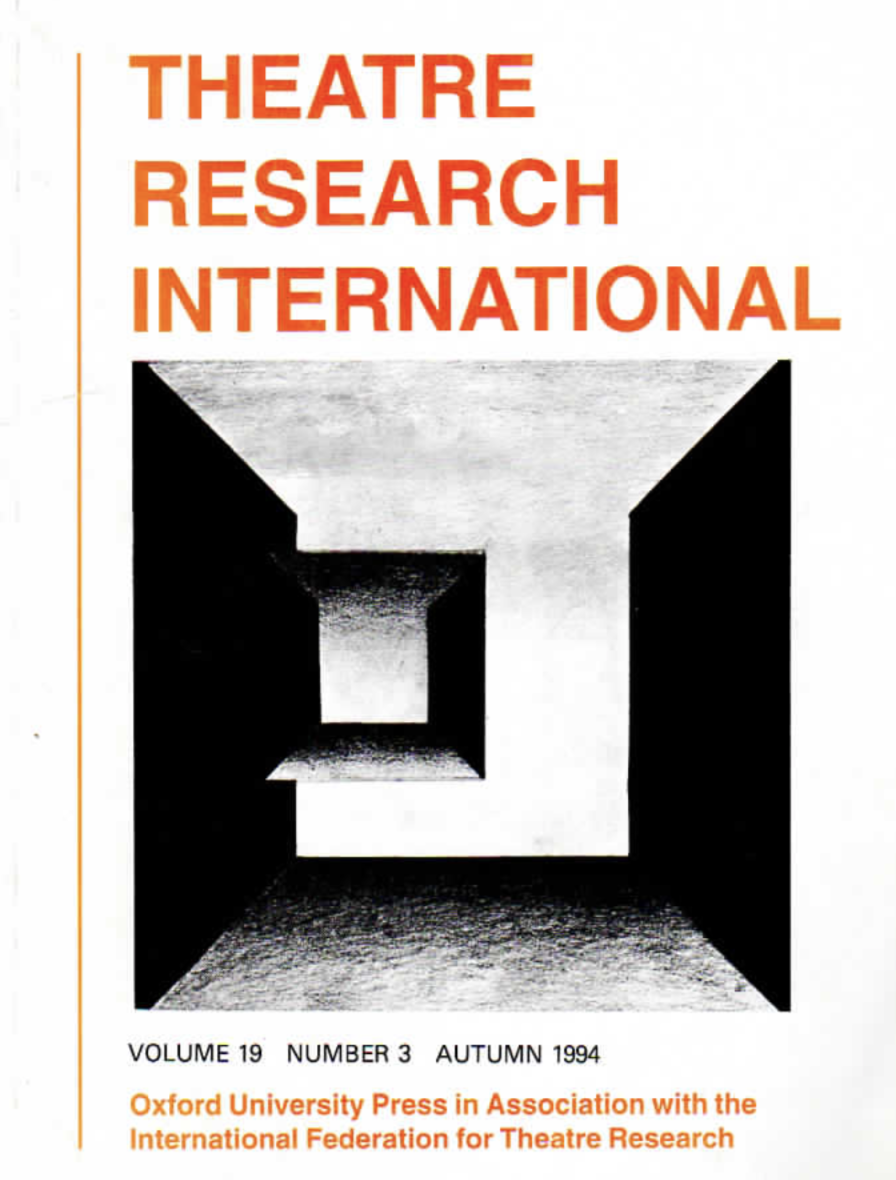 Emandulo: Process and Performance in a Changing South Africa  Theatre Research International