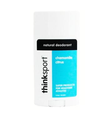 Think Sport Chamomile Citrus Deodorant, $12.95