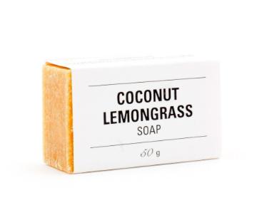 Coconut Lemongrass Soap, $7.00