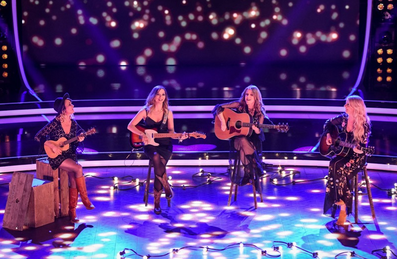 "The Savannahs on BBC One Pitch Battle performing ""Wake Me Up"" by Avici"