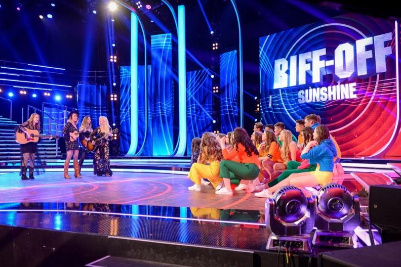 The Savannahs' Riff-Off Battle on BBC One's 'Pitch Battle'