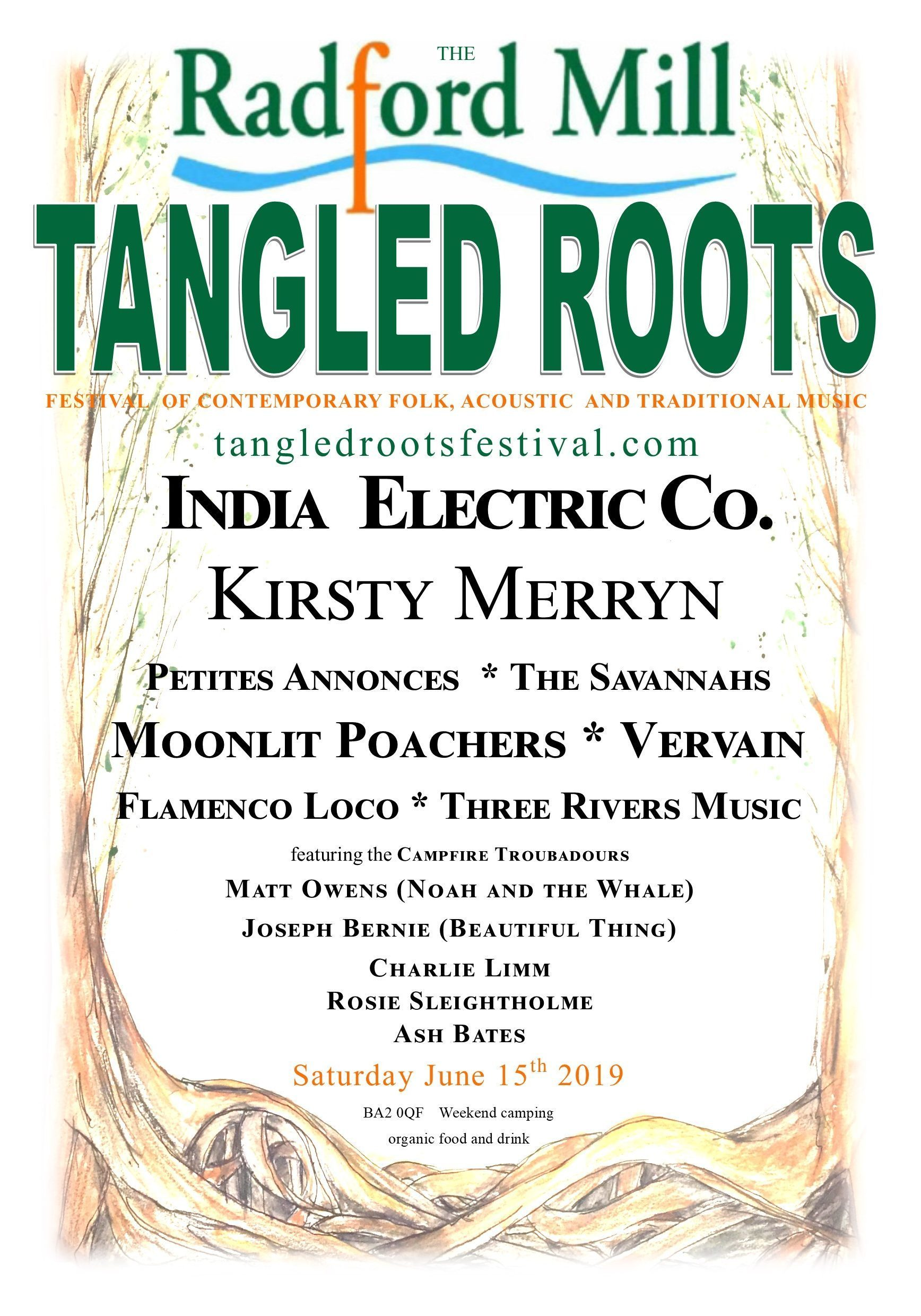 Tangled Roots Festival 15th June 2019