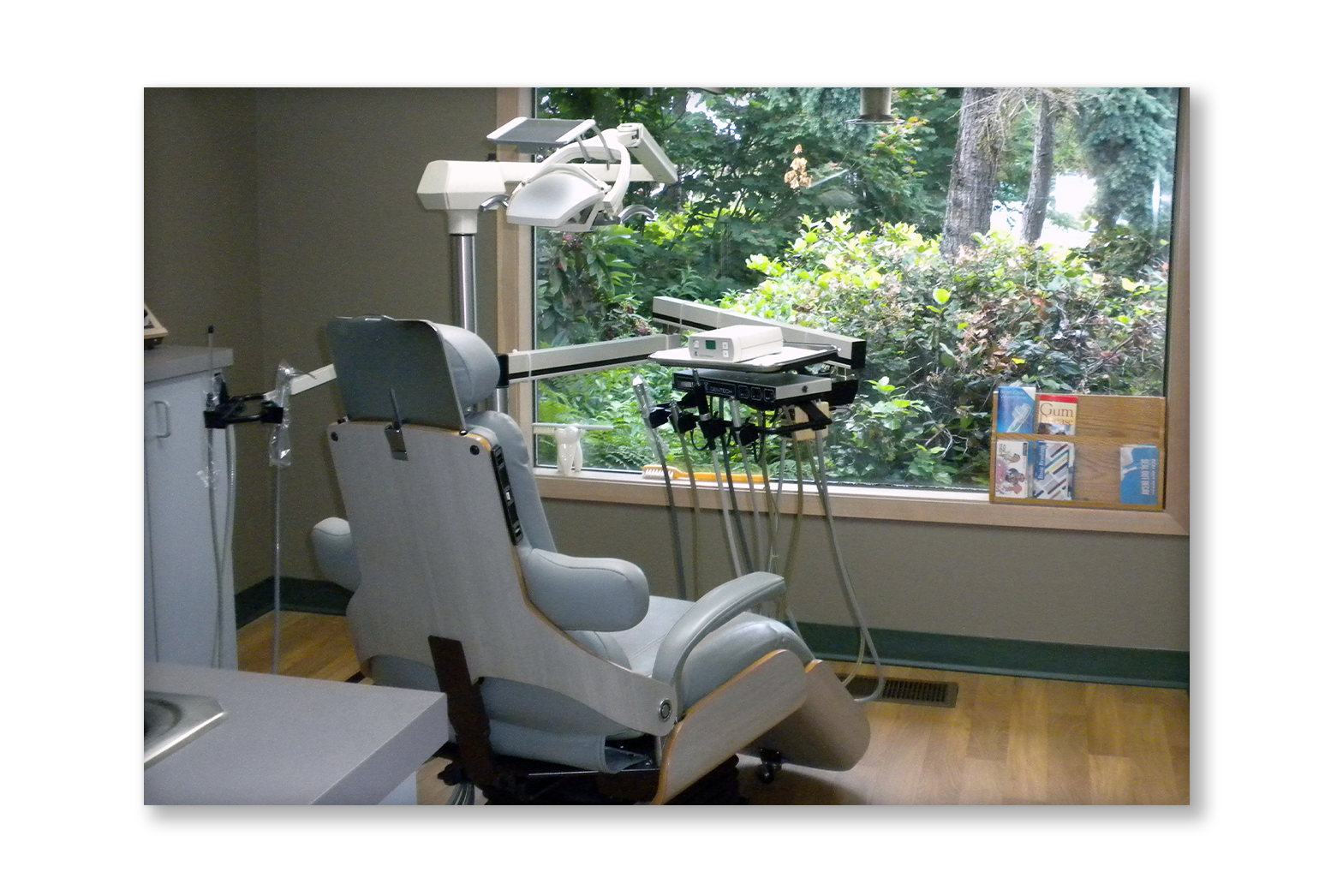 One of our exam rooms.