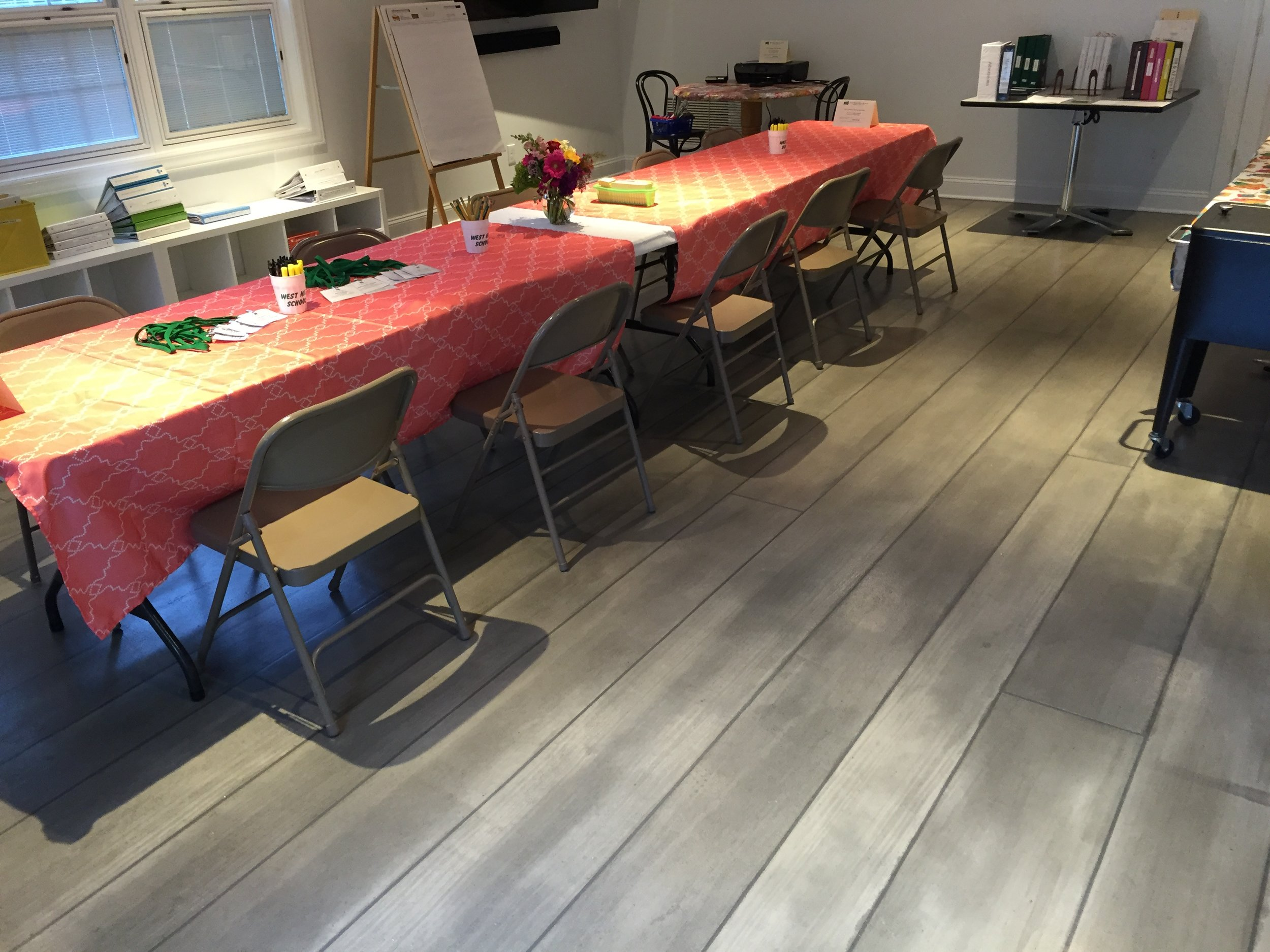 Rustic Concrete Wood Classroom - Bryn Mawr, PA