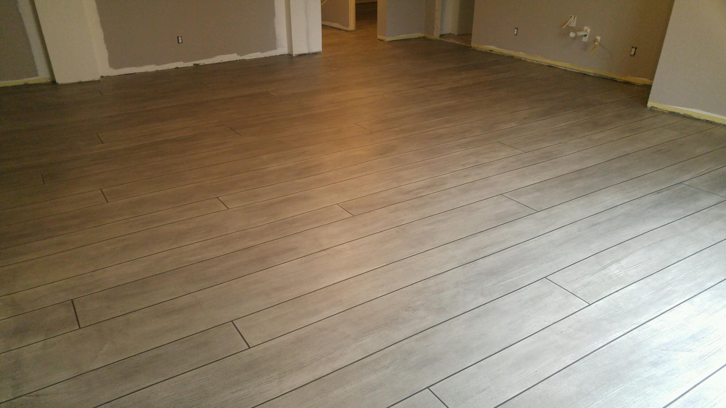 Weathered Concrete Wood Basement - Villanova, PA