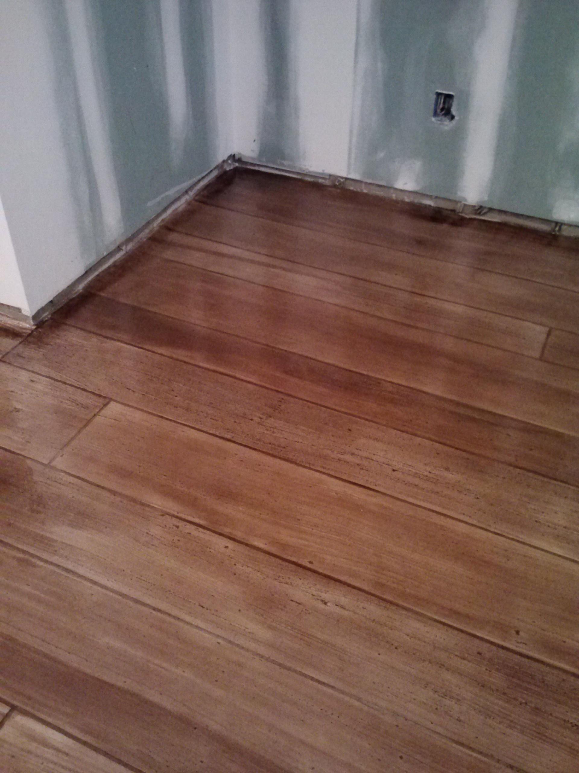 Rustic Concrete Wood Basement - Ardmore, PA