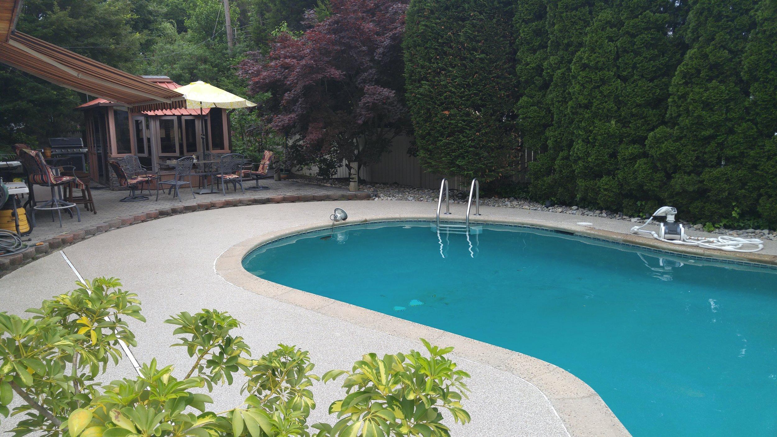 Graniflex Pool Deck - Swarthmore, PA