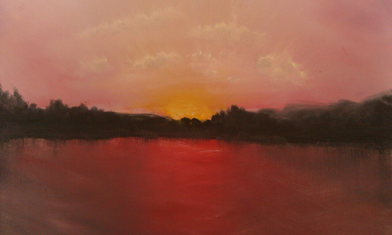 LauraPina-Shelton_Red Sunset.jpg