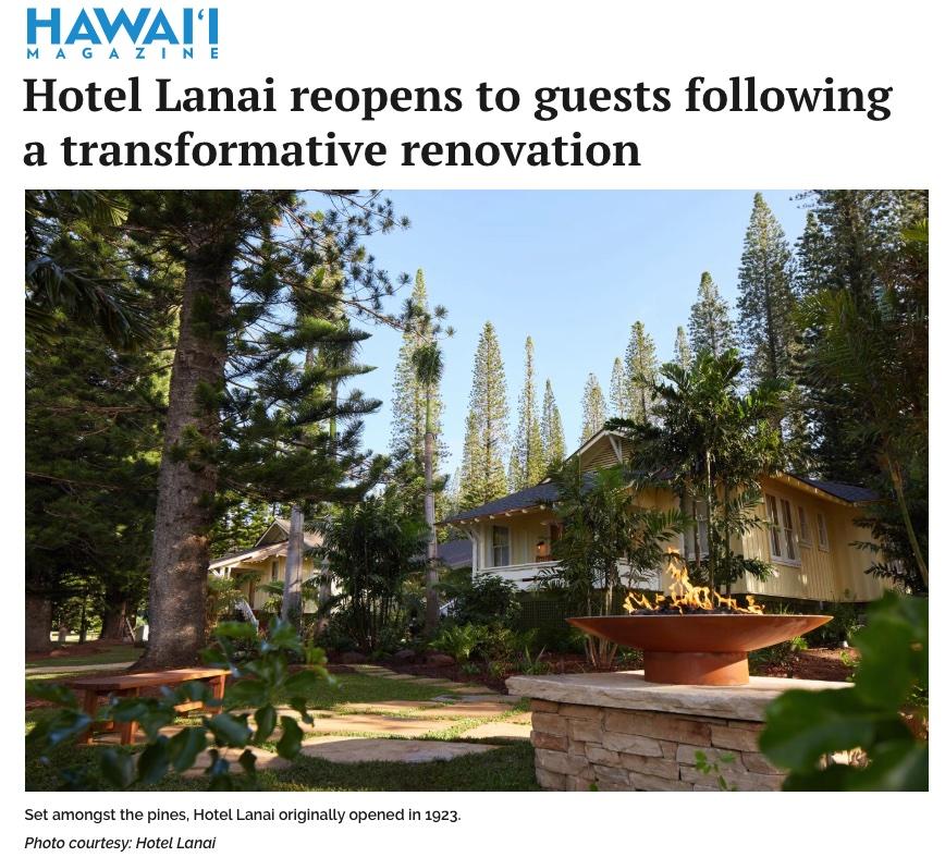 Hotel Lanai News - Hawaii Magazine.jpg