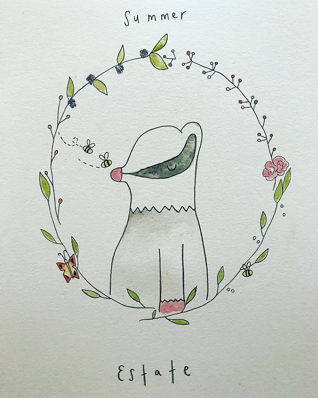 I had the pleasure of working on a beautiful nursery project with animals and Italian words for little Livia 💕 . . . . . #seasons #animals #illustration #printmaking #smallbusiness #illustrator #draw #ink #flowers #wreath #estate #summer #floral #wild #ink #create #design #artwork #stationery #greatoutdoors #make #childrens #childrensbooks #nursery #baby #organic #stories #storyboard #instaart #bookstagram #littleinklondon
