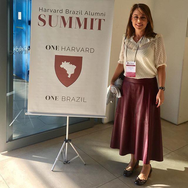 Sábado especial de aprendizados e reflexões sobre educação, democracia e perspectivas para o Brazil, além de encontrar amigos de longa data de Harvard.