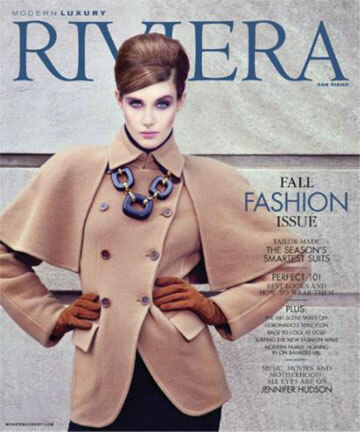 Modern Luxury Riviera Magazine - Sept 2013