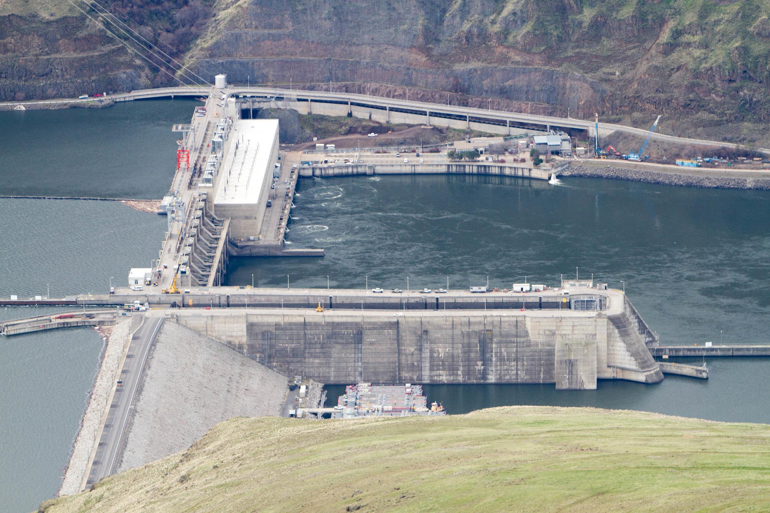 Lower Granite Dam in Whitman County, Washington