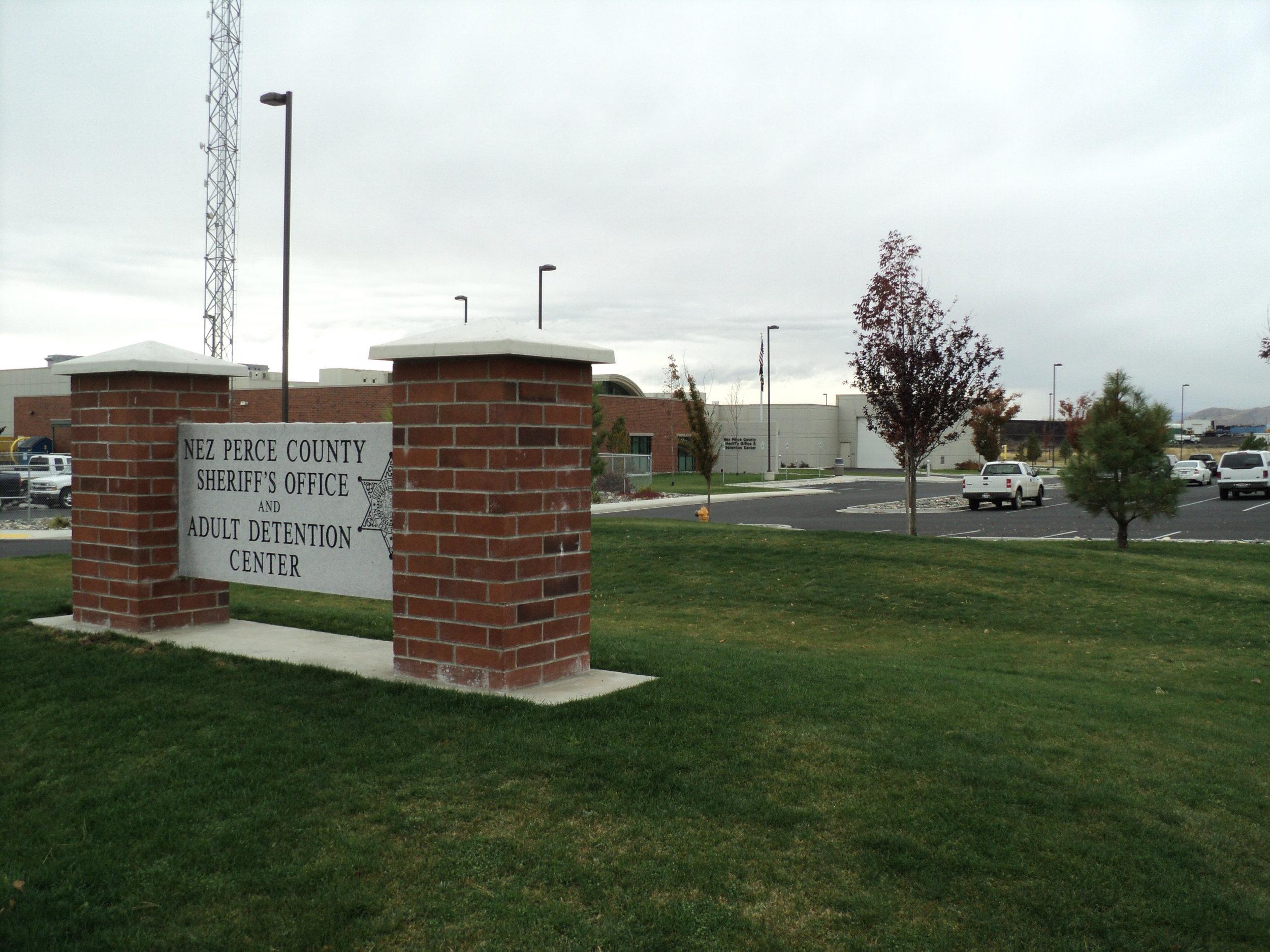 Nez Perce County Jail in Port of Lewiston, Idaho