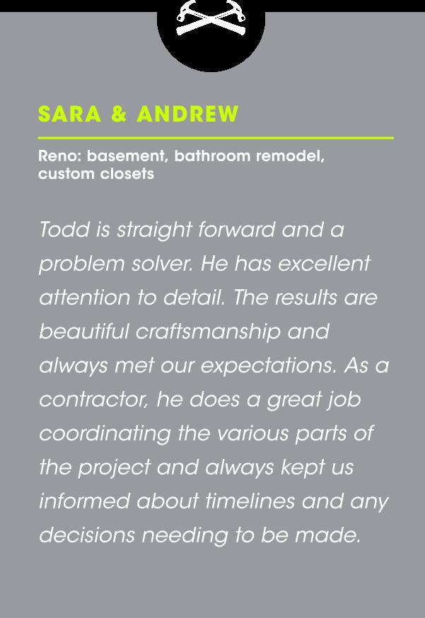 Sara & Andrew Testimonial