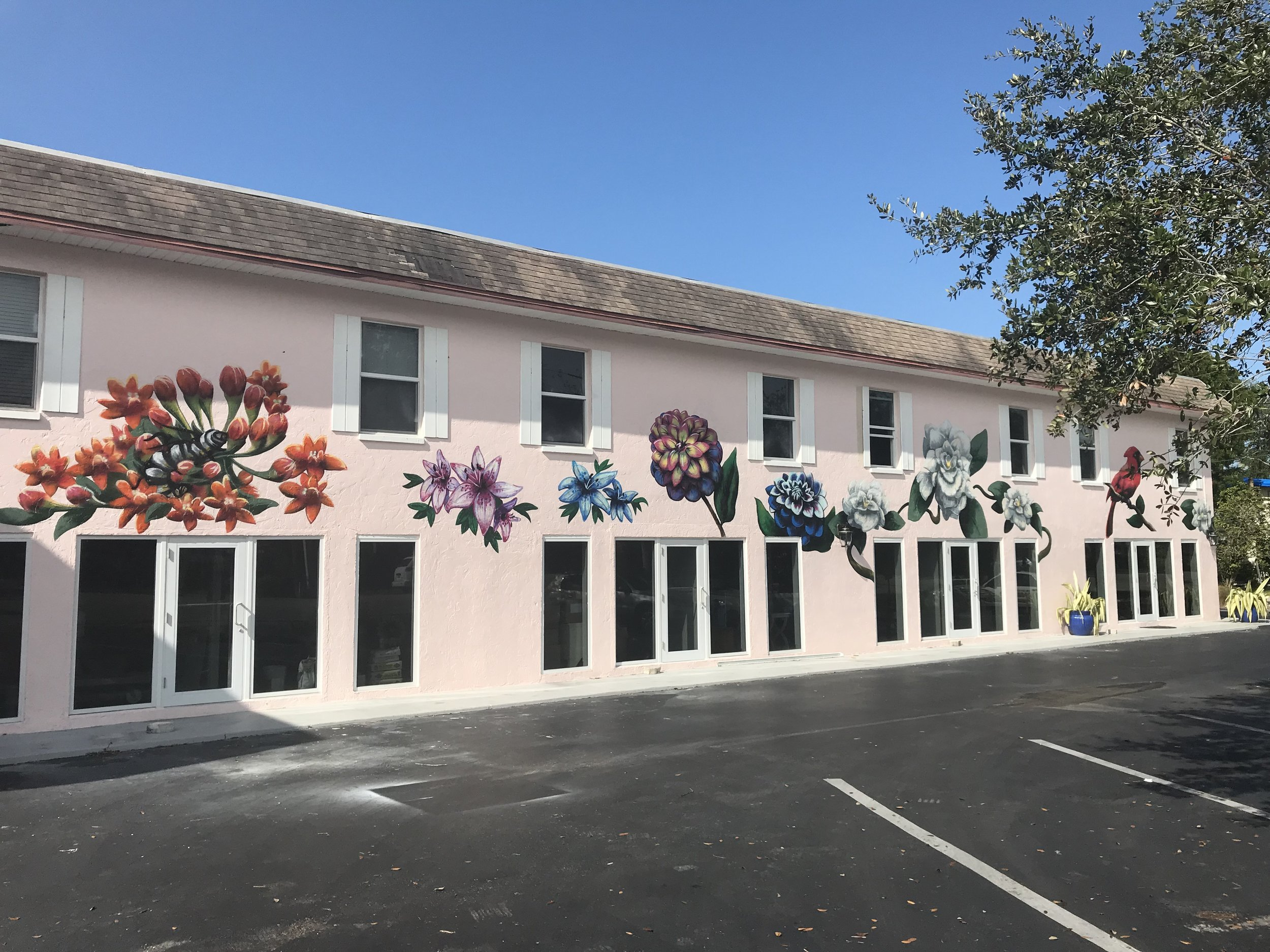 A boutique hotel in the heart of Naples. Stop by to see the infamous Gardenia mural!
