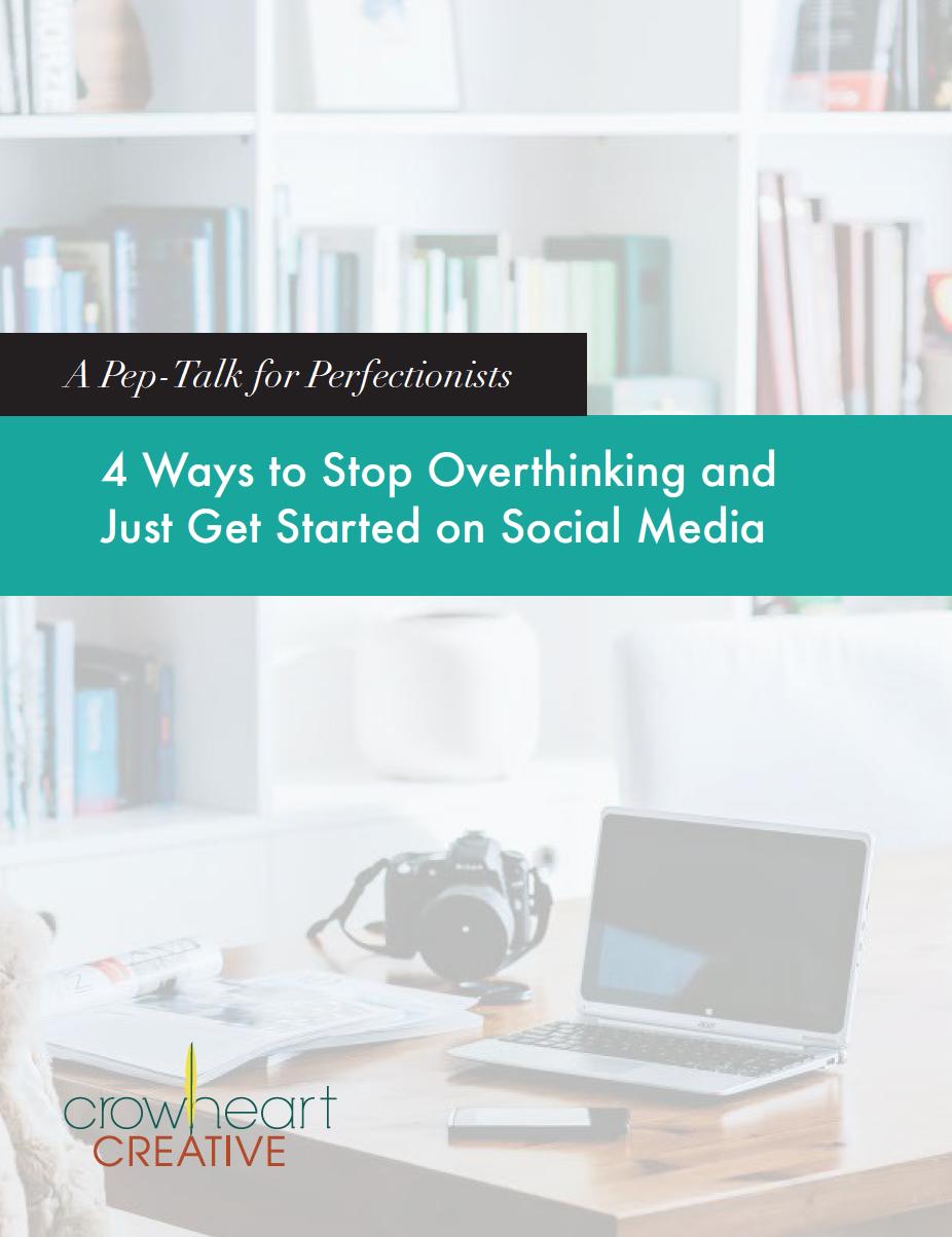 4 ways to stop overthinking