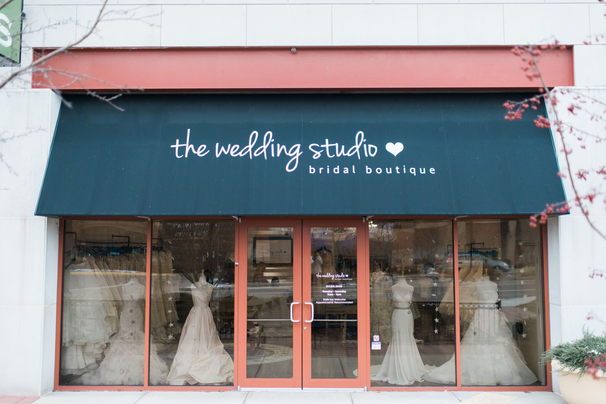 The Wedding Studio Bridal Boutique in Carmel Indiana