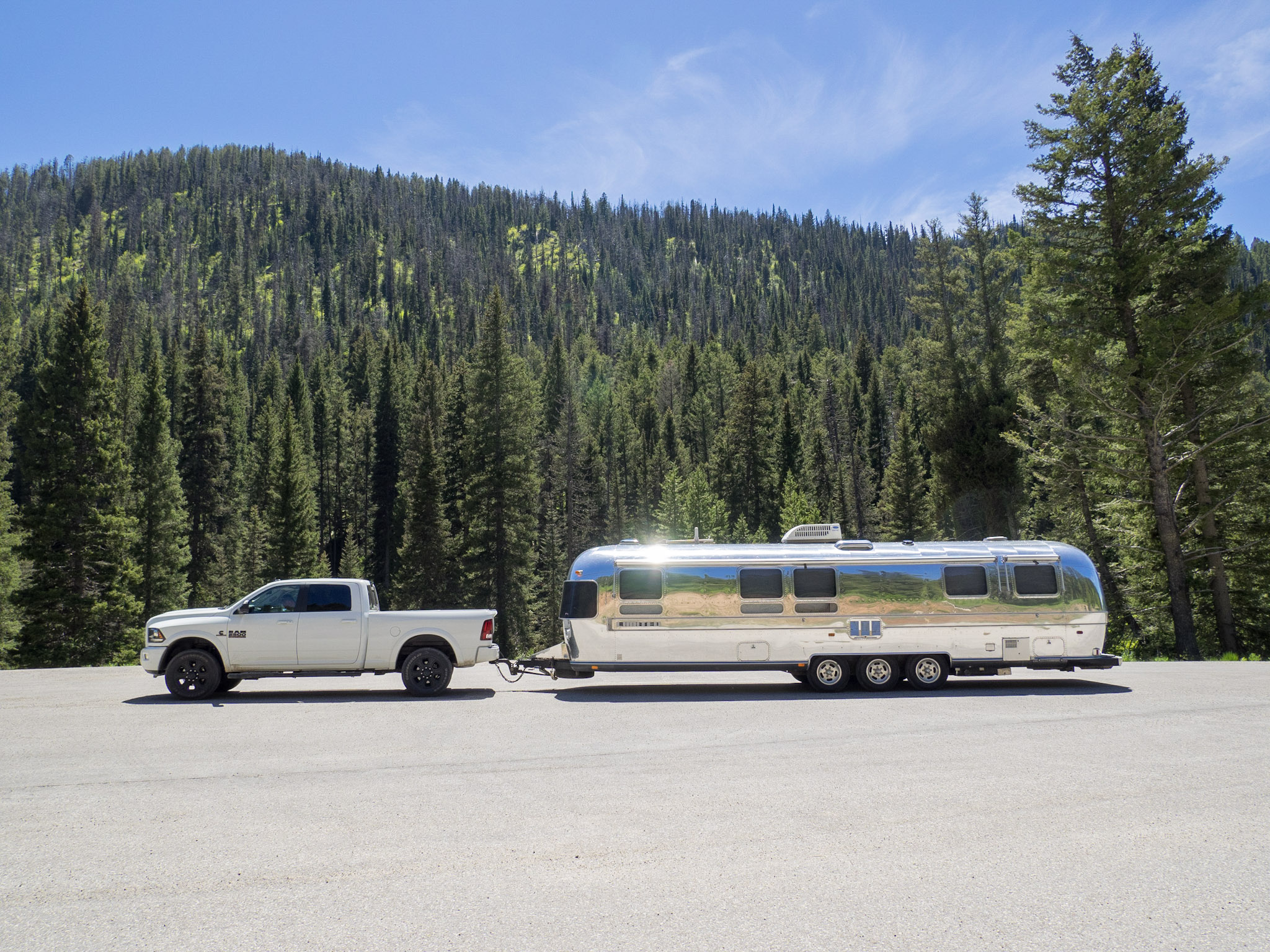 Our not so tiny shiny home on the Jackson Pass, WY