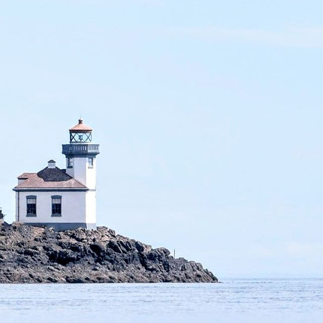 This little lighthouse has a secret.  There's a hydrophone that let's you listen to the orcas speaking and singing from the ocean. My kinda playlist! ♪