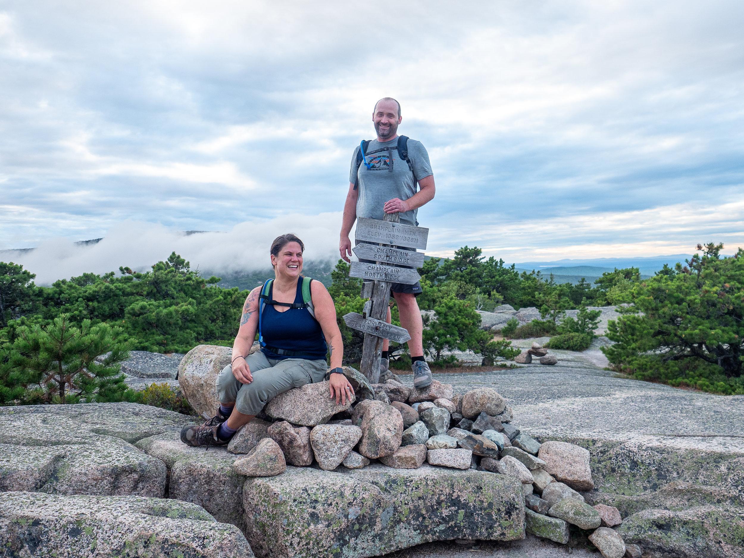Sam & Brent Gardiner | Precipice Trail, Acadia Nat'l Park, ME | August 2019