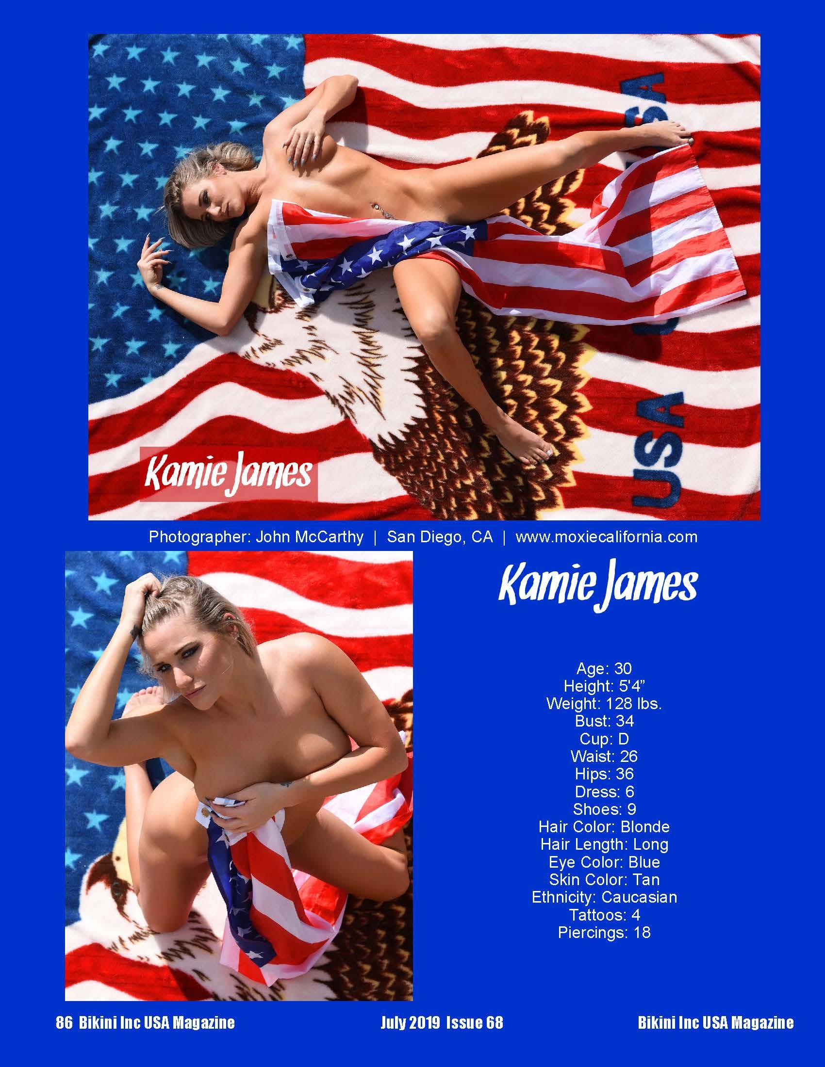 Kamie James - Jul 2019
