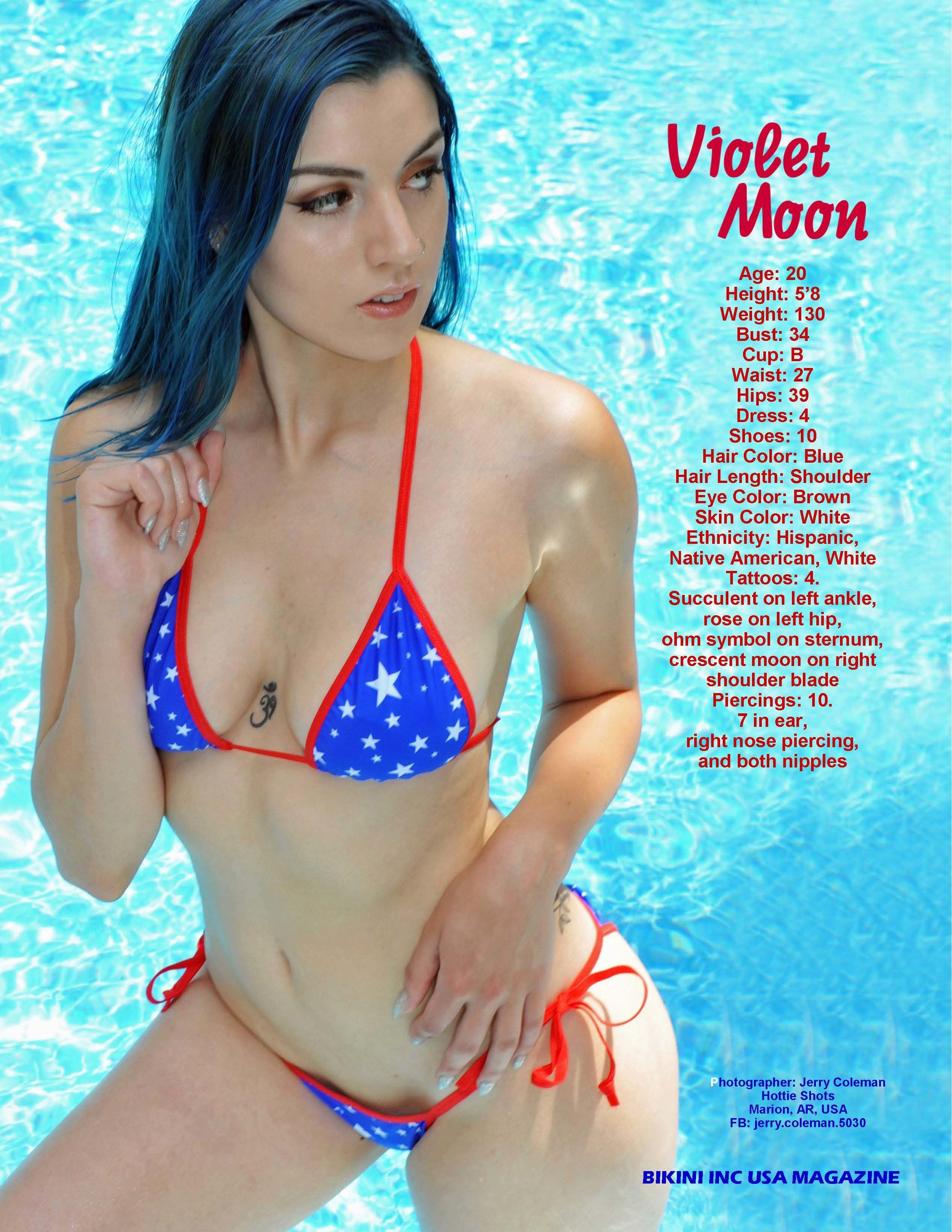 Violet Moon - Jul 2018