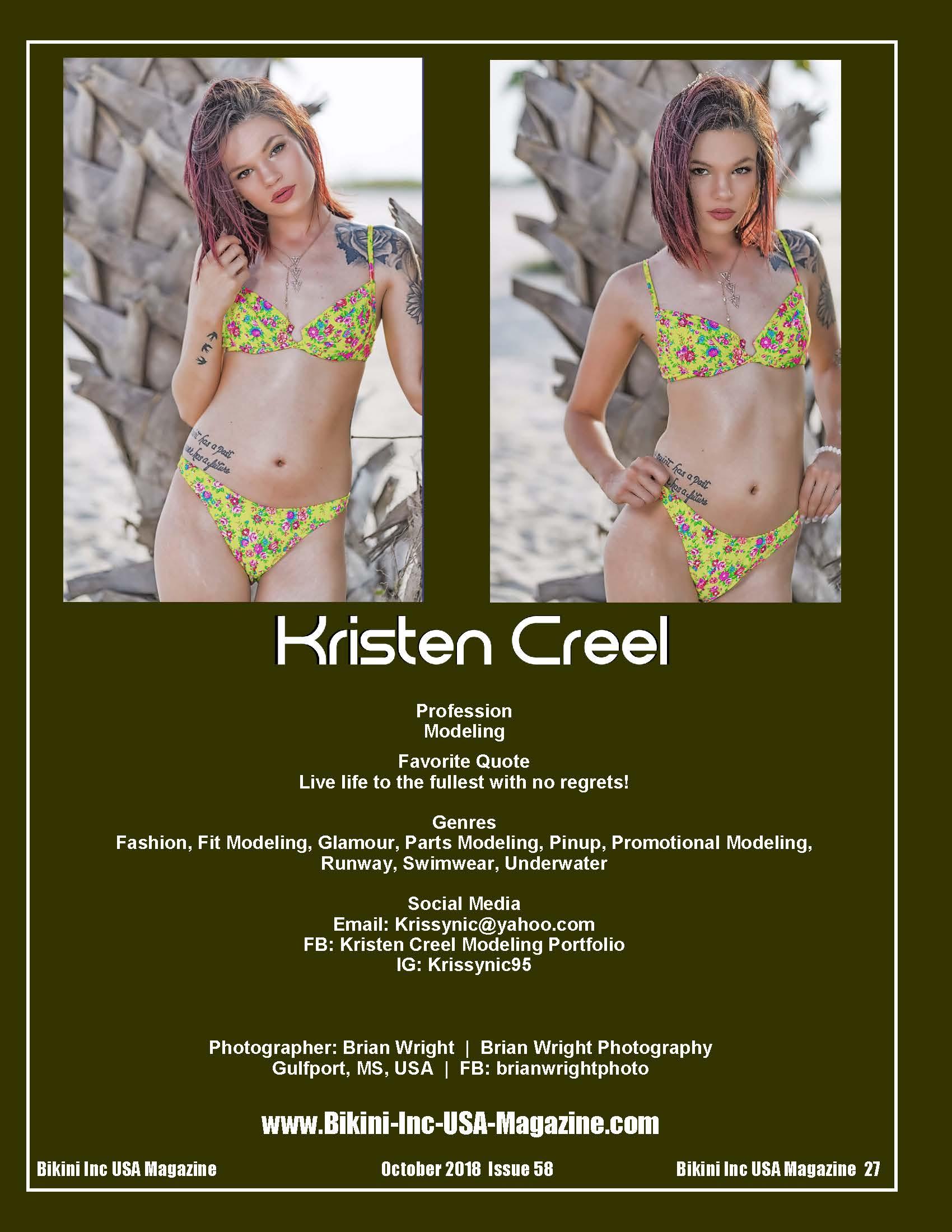Kristen Creel - Oct 2018