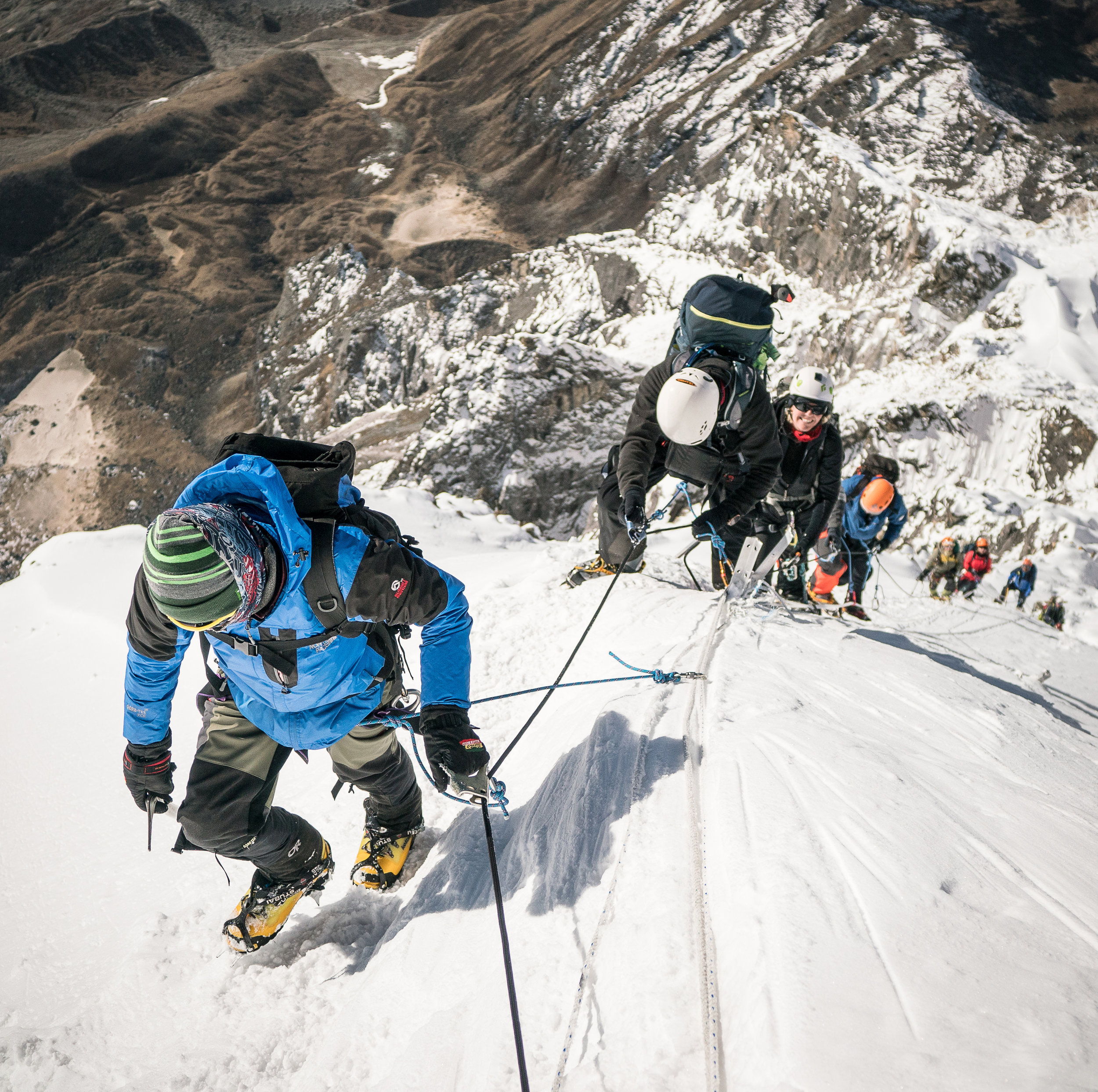Trekking / Mountain Climbing - Everest Region, Nepal  Date: April 2018 Objective: Trek from Lukla airport to Everest Basecamp and Summit the 20,000ft Lobuche East