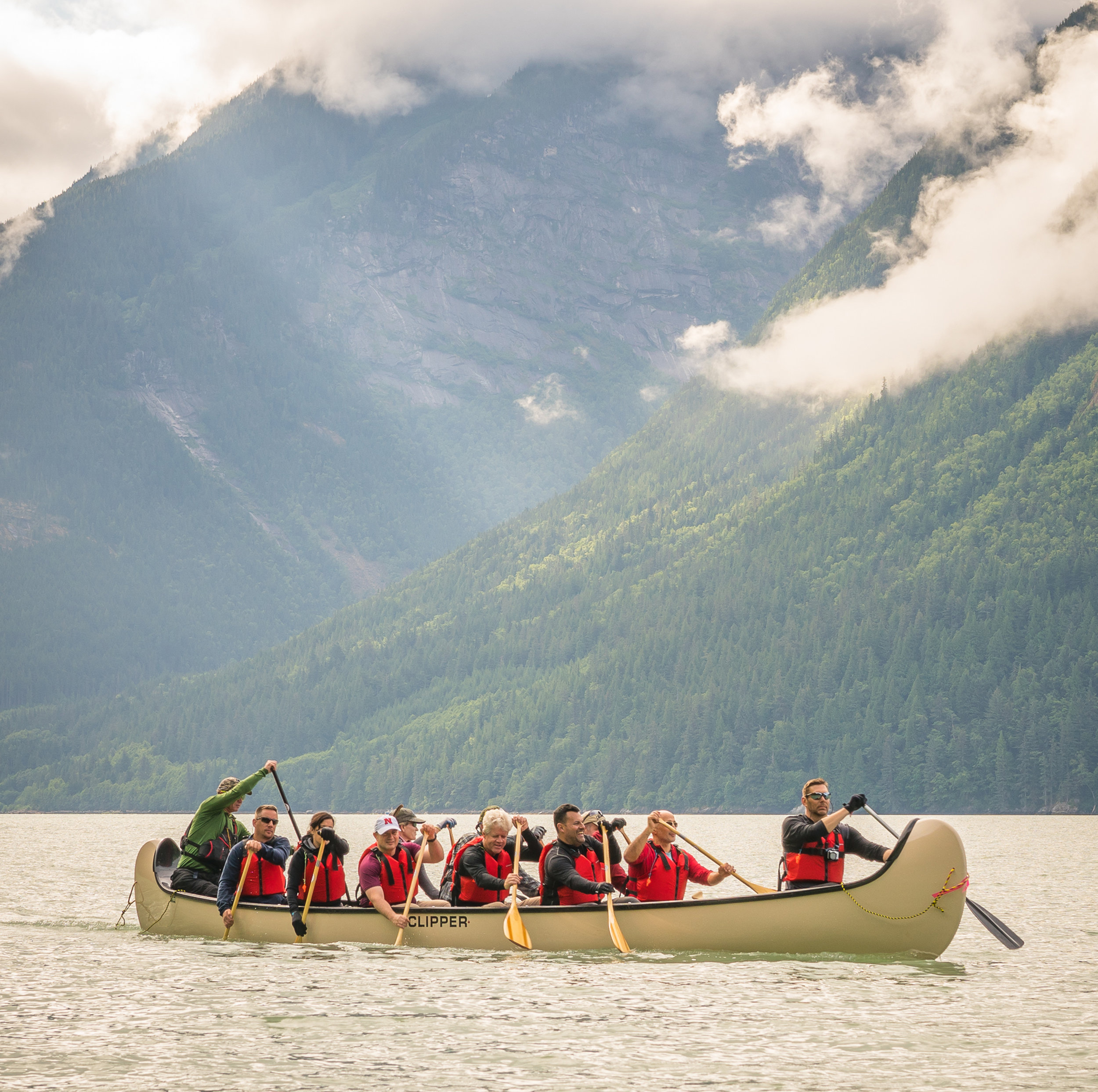 Rafting / Ocean Paddling - Bella Coola, BC  Date: July 2017 Objective: Hike, Raft and Ocean paddle to MacKenzie inscription from Tweedsmuir National Park.