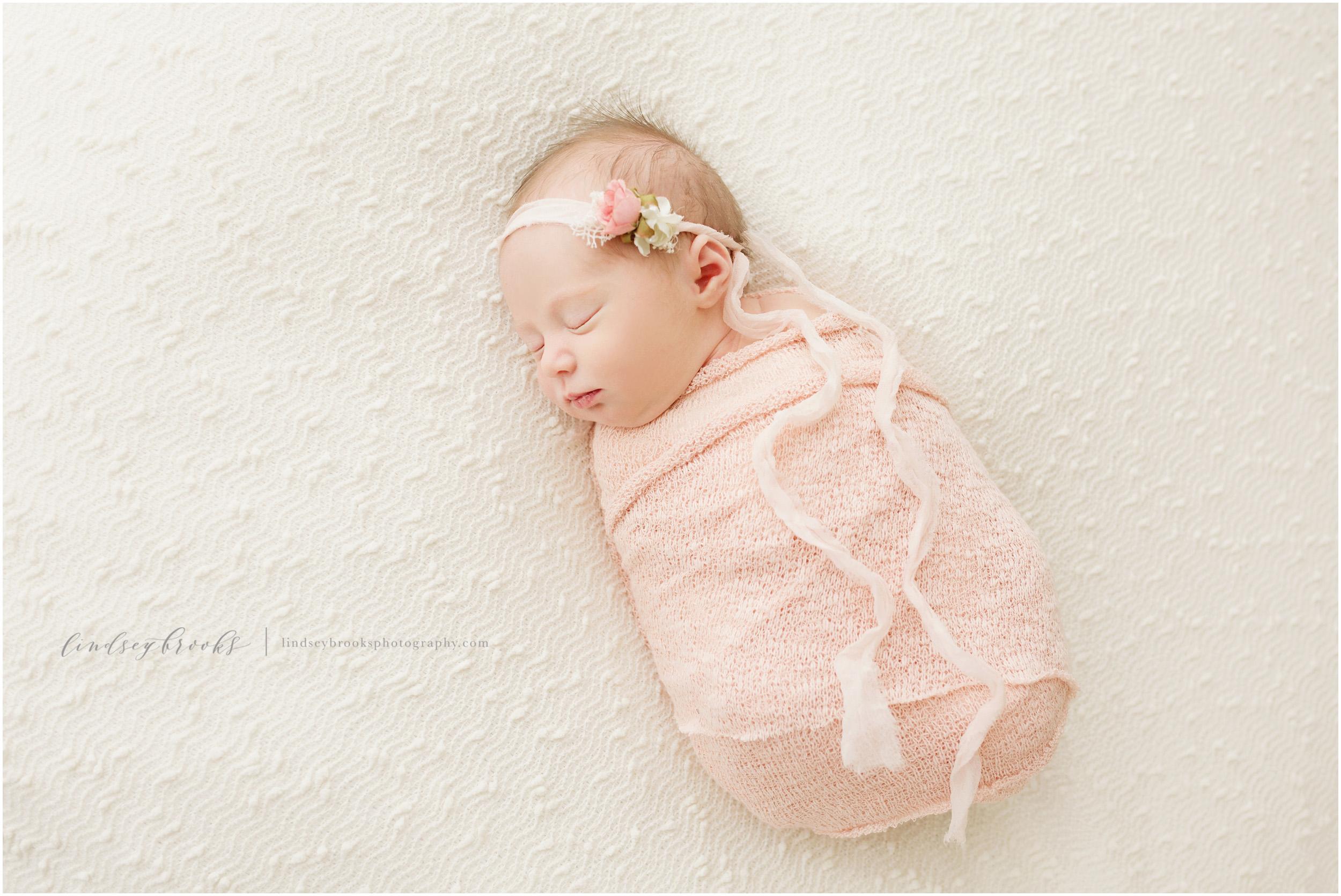 newborn wrap oklahoma city photographer