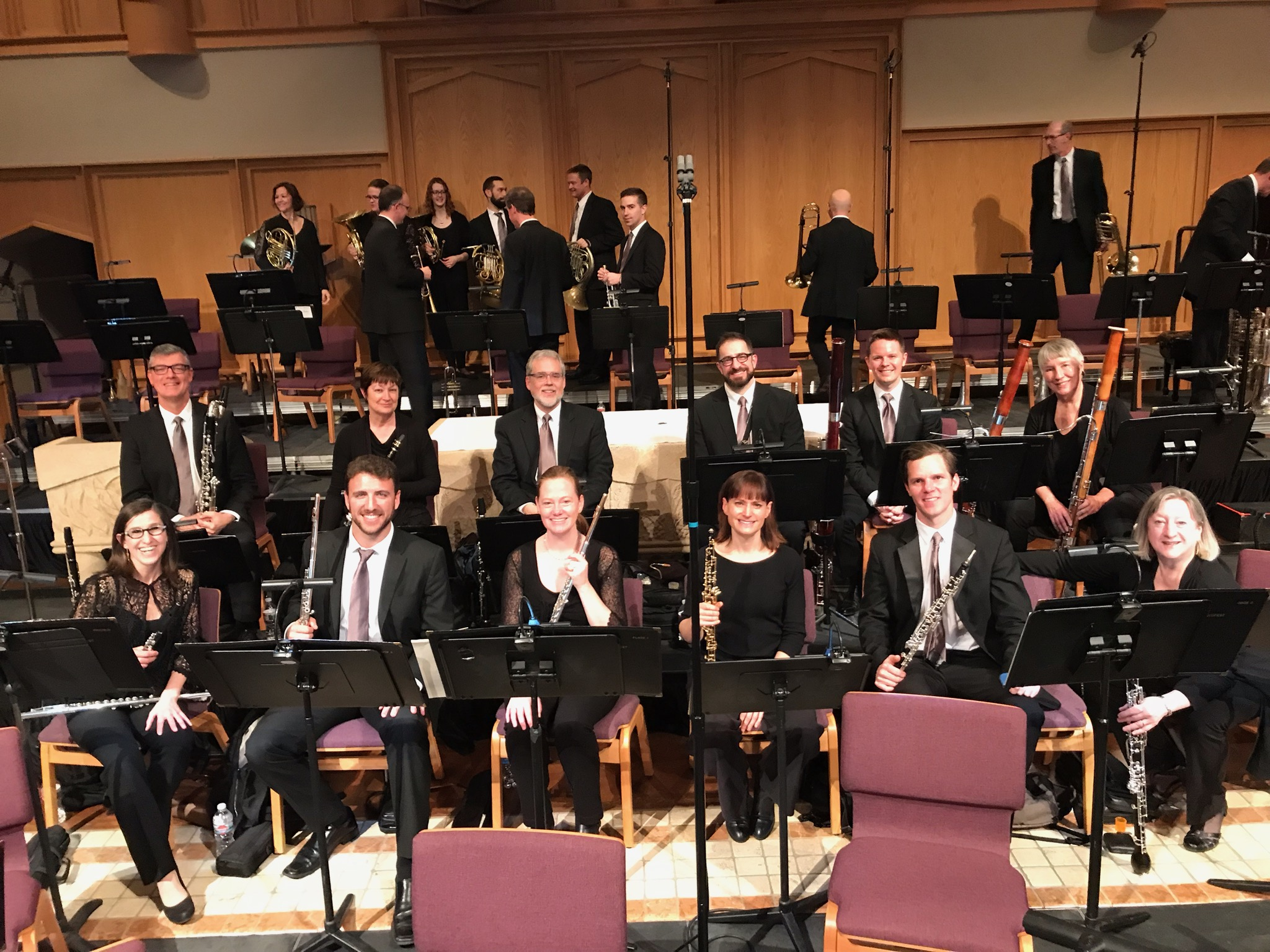 AZ MusicFest wind section 2019