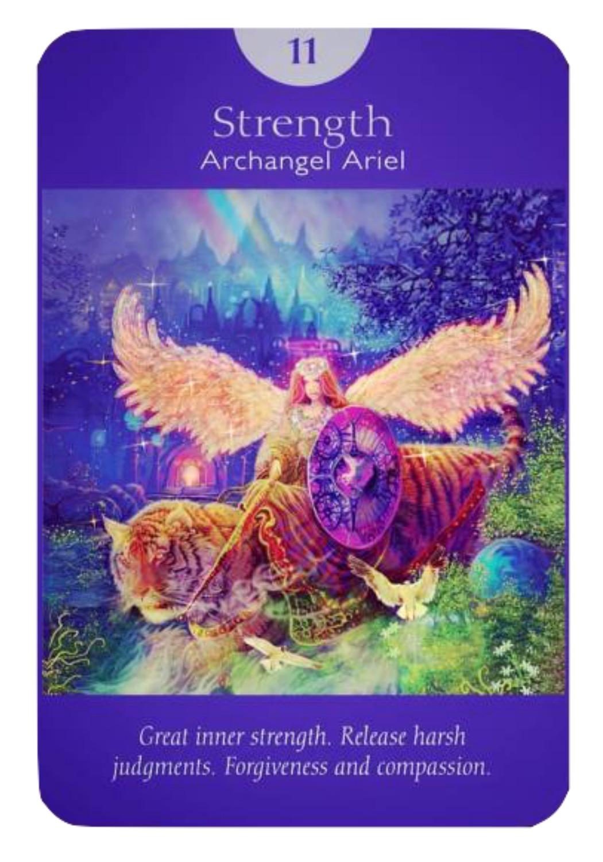 Strength - Archangel Ariel (Angel Tarot Cards - Doreen Virtue & Radleigh Valentine)