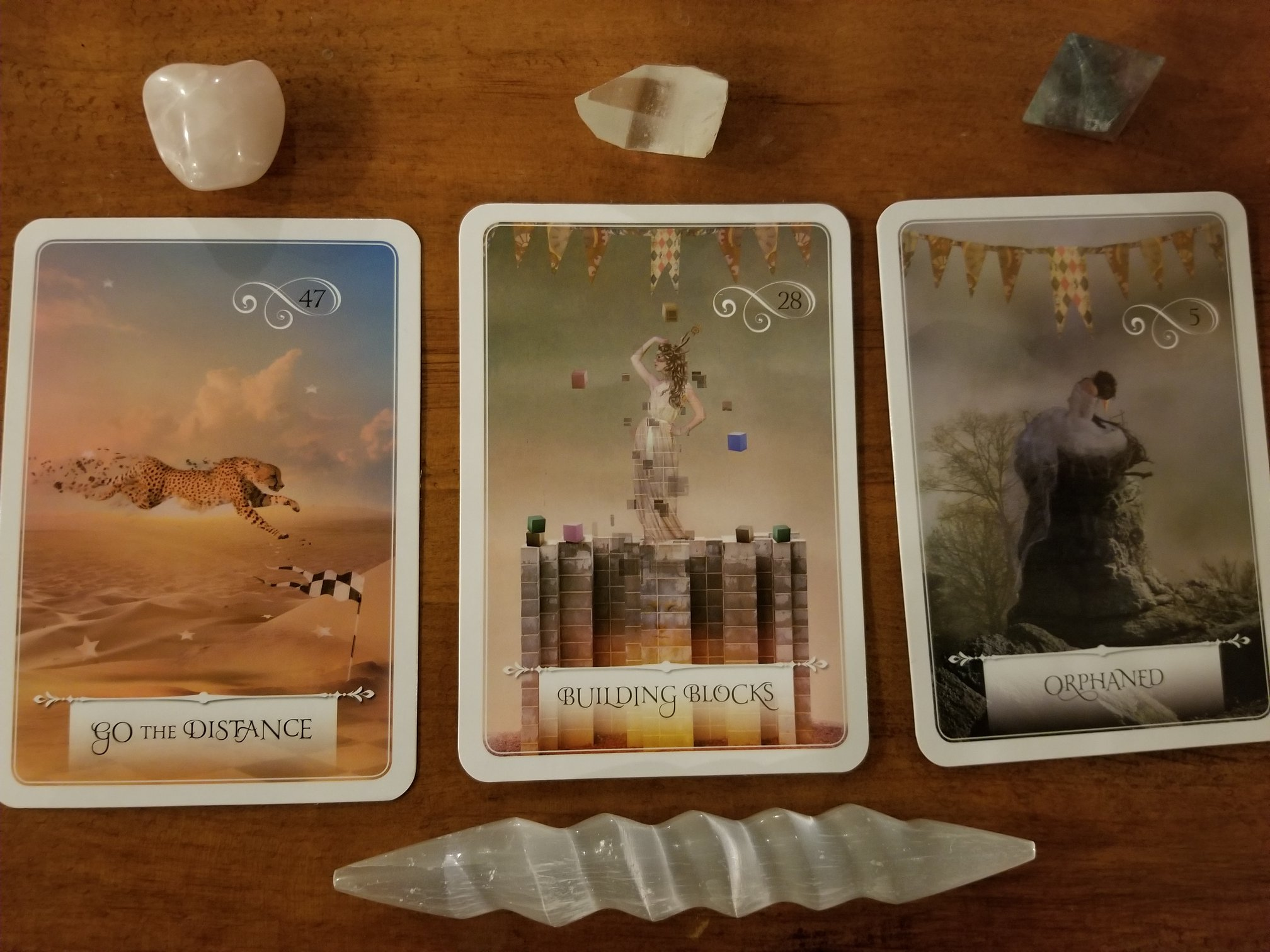 Oracle Monday 1/29/18 REVEALED - Go the Distance, Building Blocks, Orphaned