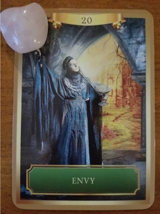 Envy - Energy Oracle Cards, Sandra Anne Taylor