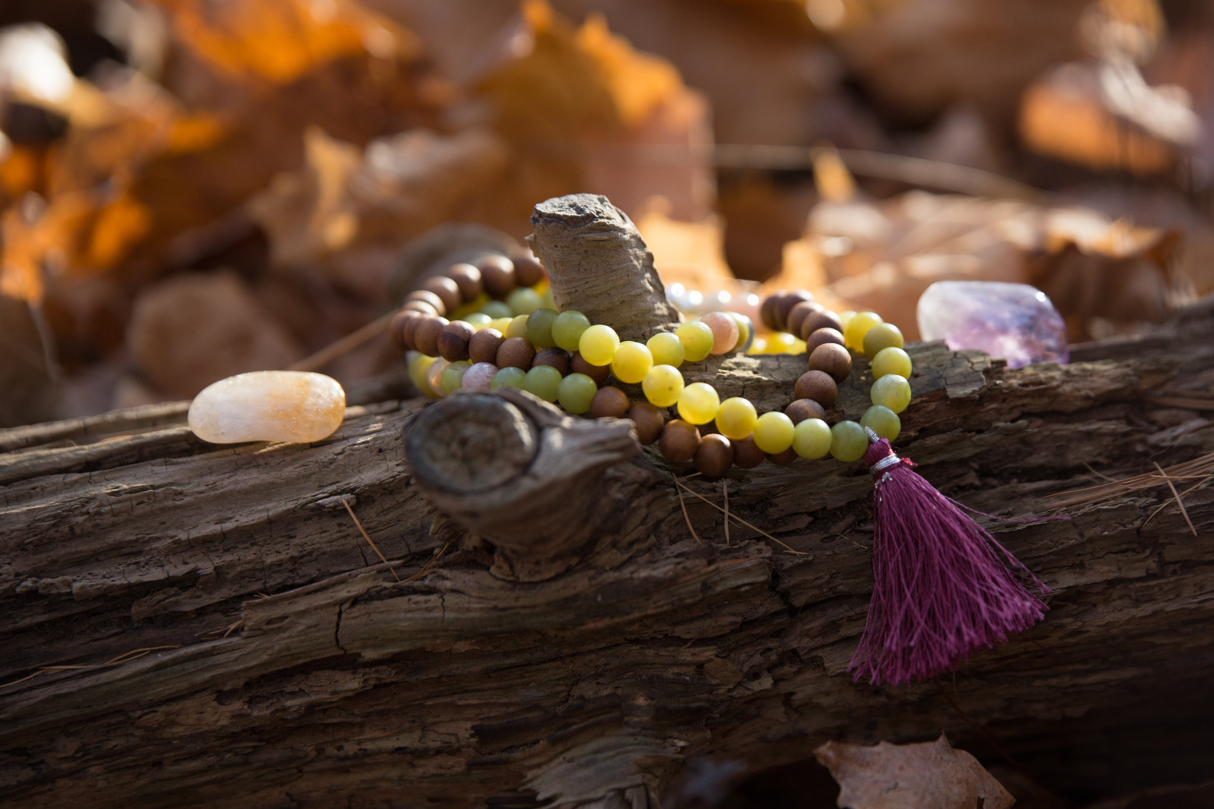 Intuitive Crystal Adornment