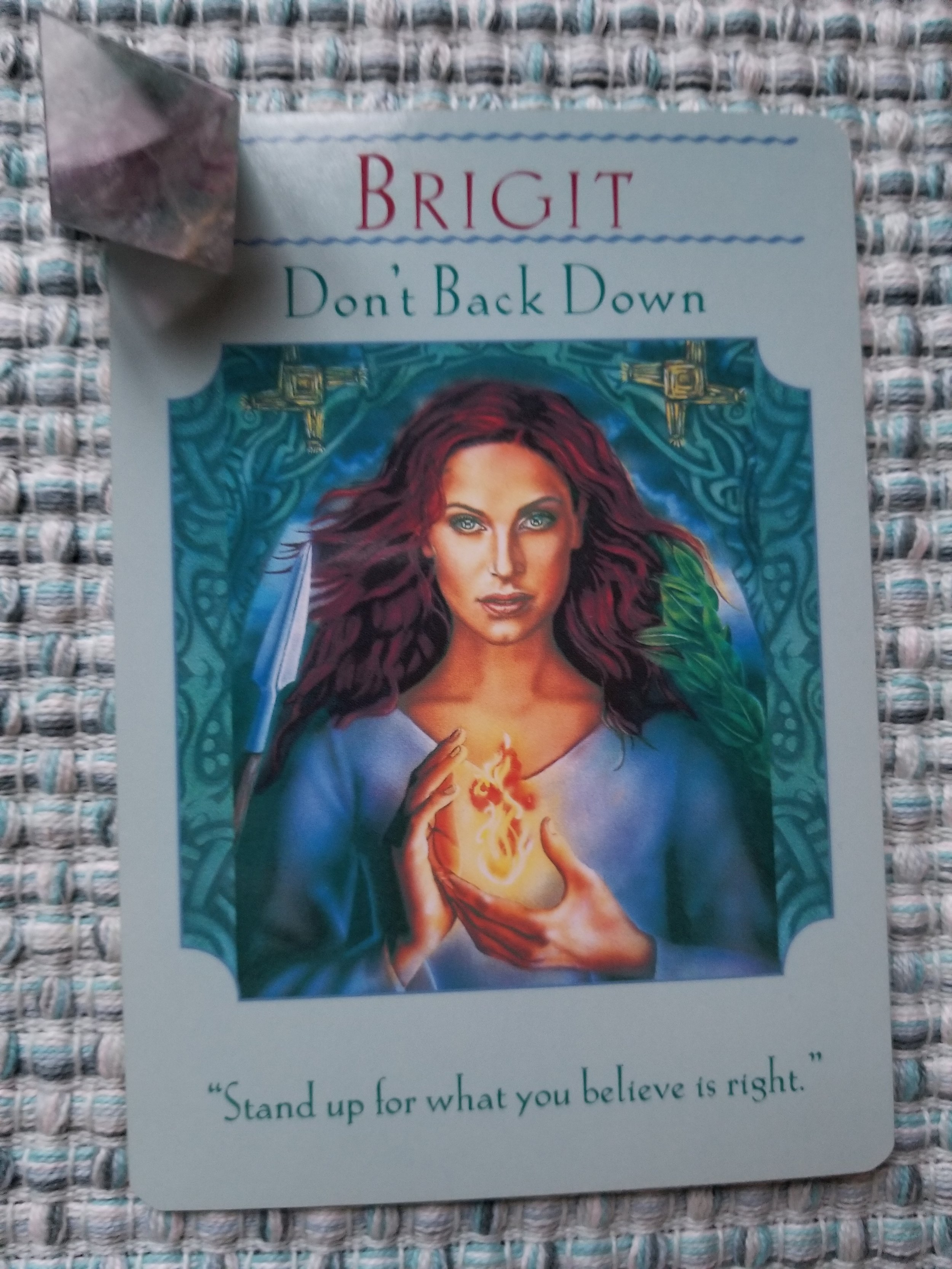 BRIGIT - Don't Back Down, Goddess Guidance Oracle by Doreen Virtue