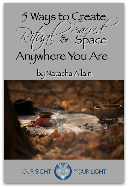 FREE GUIDE - 5 Ways to Create Ritual & Sacred Space Anywhere