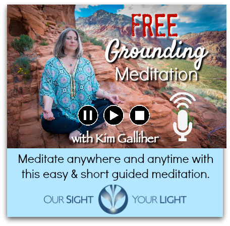 FREE Guided Grounding Meditation with Kim Galliher