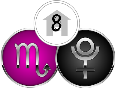 The Eighth House, ruled by Scorpio & Pluto
