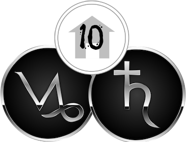 The Tenth House, ruled by Capricorn & Saturn