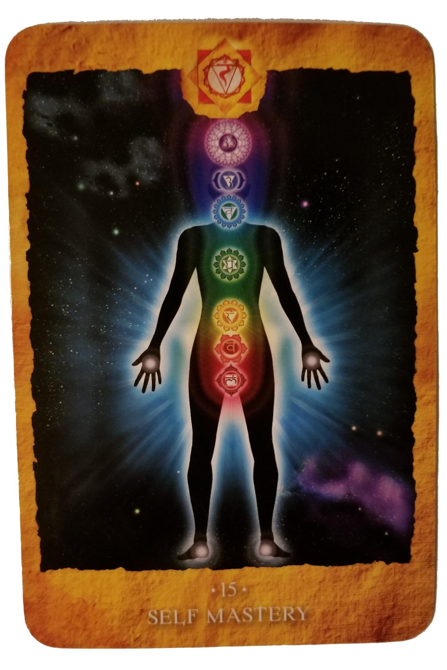 SELF-MASTERY - Chakra Reading Cards