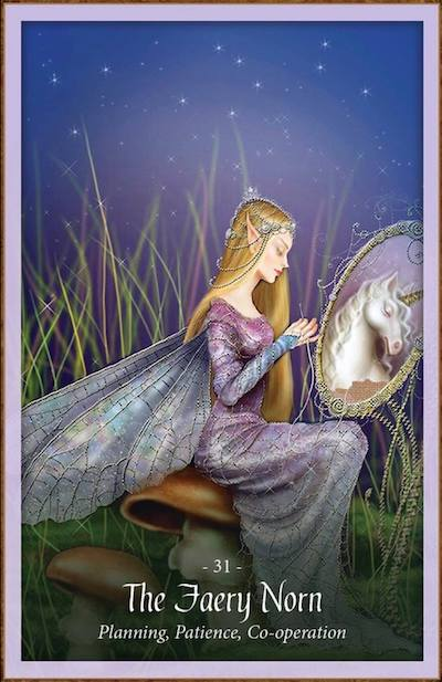 THE FAERY NORN - Faery Forest Oracle
